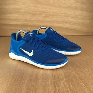 NEW Nike Free Run 2018 Photo Blue